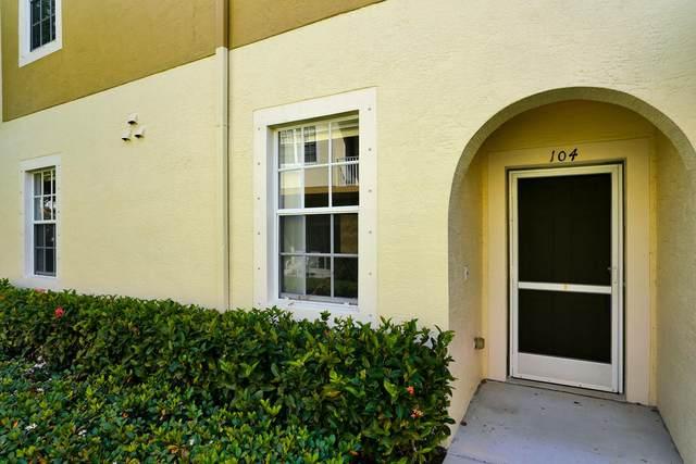 1550 SE Wilshire Place #104, Stuart, FL 34994 (MLS #RX-10613566) :: The Jack Coden Group