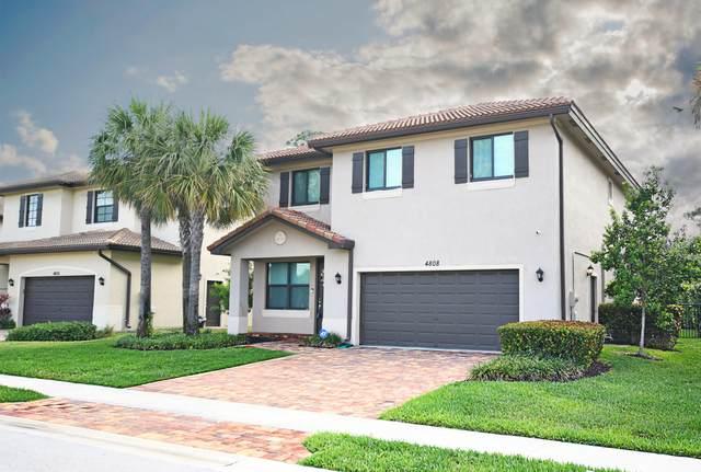 4808 Conifer Court, Greenacres, FL 33463 (#RX-10613790) :: Ryan Jennings Group