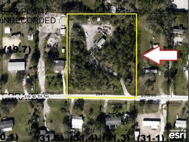 7441 SW 40th Terrace, Palm City, FL 34990 (MLS #RX-10614081) :: RE/MAX