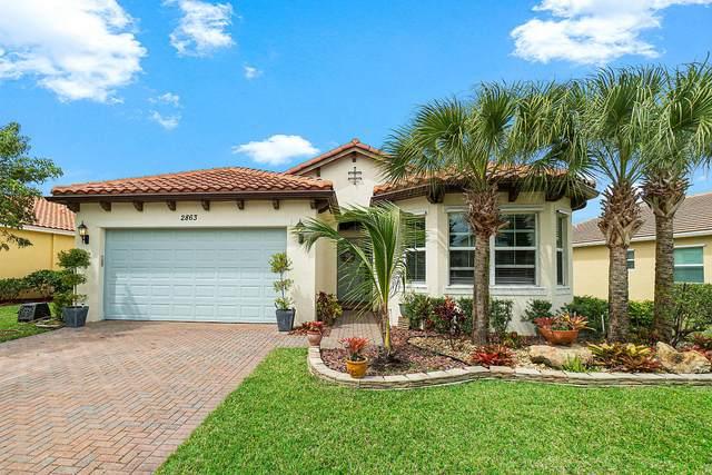 2863 Bellarosa Circle, Royal Palm Beach, FL 33411 (#RX-10614214) :: Ryan Jennings Group