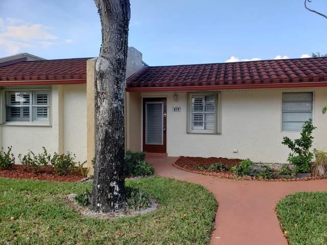 419 Lake Evelyn Drive, West Palm Beach, FL 33411 (#RX-10614273) :: Ryan Jennings Group