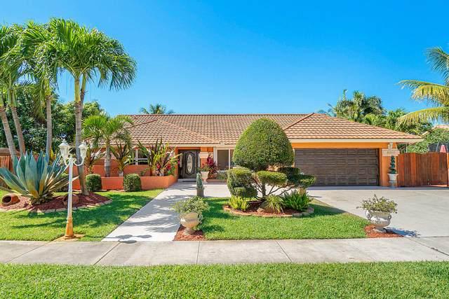 9711 Sun Pointe Drive, Boynton Beach, FL 33437 (MLS #RX-10614327) :: Laurie Finkelstein Reader Team