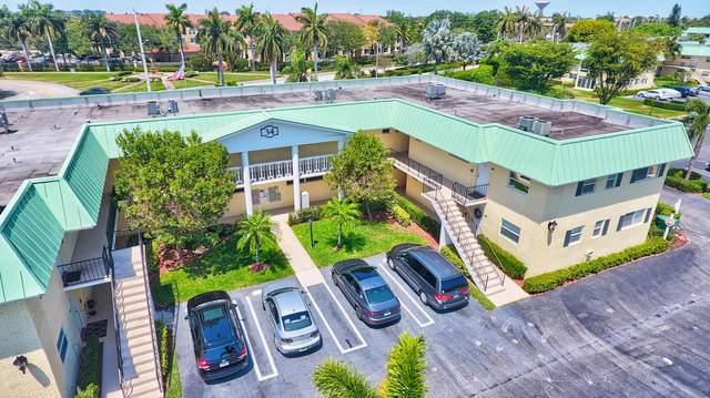 34 Colonial Club Drive #105, Boynton Beach, FL 33435 (MLS #RX-10614389) :: Laurie Finkelstein Reader Team
