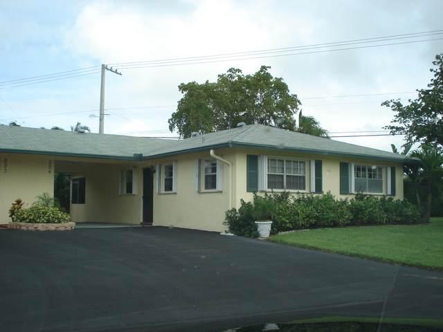 224 Cardinal Lane, Delray Beach, FL 33445 (#RX-10614615) :: Real Estate Authority