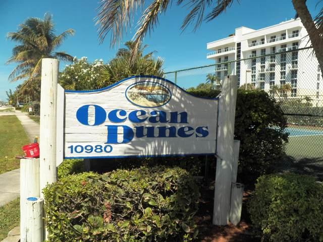 10980 S Ocean Drive #411, Jensen Beach, FL 34957 (#RX-10614624) :: Ryan Jennings Group