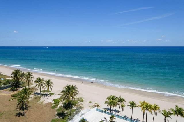 1360 S Ocean Blvd. Boulevard #1206, Pompano Beach, FL 33062 (MLS #RX-10614890) :: Castelli Real Estate Services