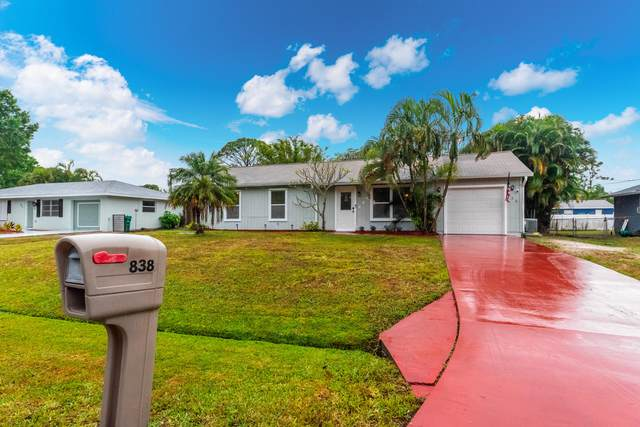 838 SW Curtis Street, Port Saint Lucie, FL 34983 (#RX-10614910) :: Real Estate Authority