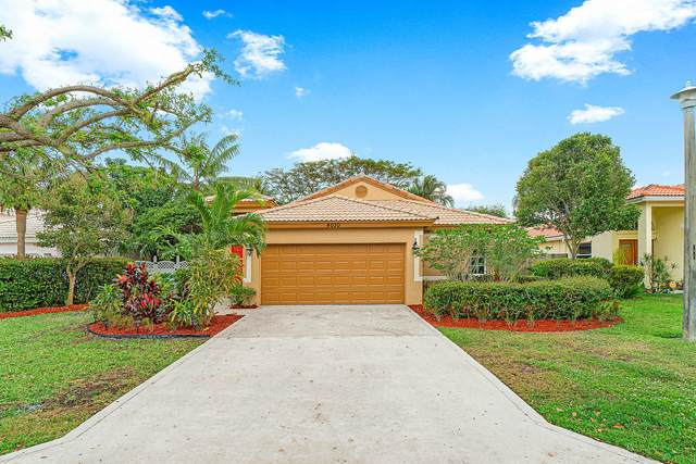 4030 Laurelwood Lane, Delray Beach, FL 33445 (MLS #RX-10614950) :: United Realty Group