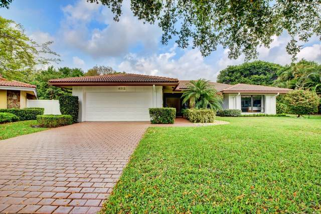 4312 Lakewood Drive, Delray Beach, FL 33445 (#RX-10616649) :: Ryan Jennings Group