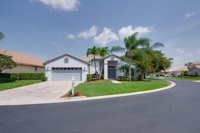2520 Egret Lake Drive Drive, Greenacres, FL 33413 (MLS #RX-10616943) :: United Realty Group