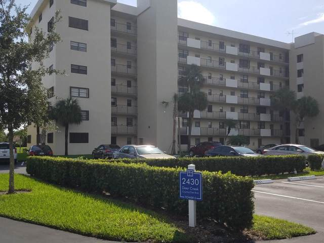 2430 Deer Creek Country Club Boulevard 109-2, Deerfield Beach, FL 33442 (#RX-10617104) :: Posh Properties