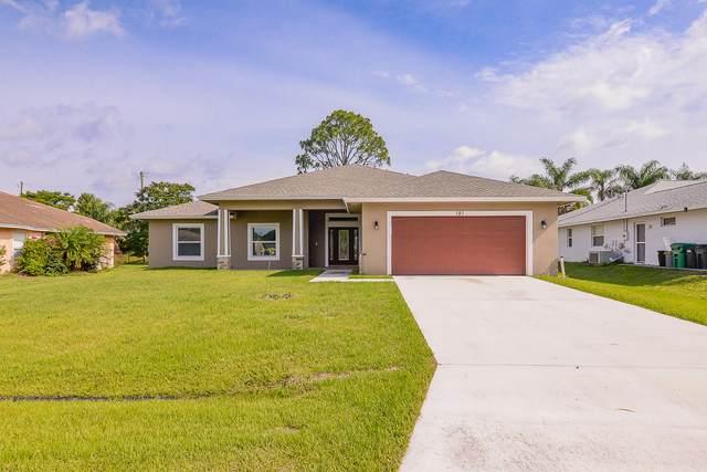 181 SW Fairway Avenue, Port Saint Lucie, FL 34953 (#RX-10617295) :: Ryan Jennings Group