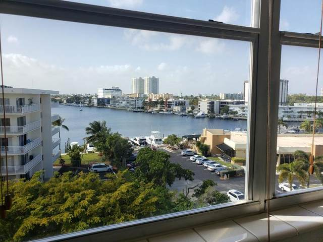 111 Golden Isles Drive F7, Hallandale Beach, FL 33009 (#RX-10617958) :: Ryan Jennings Group
