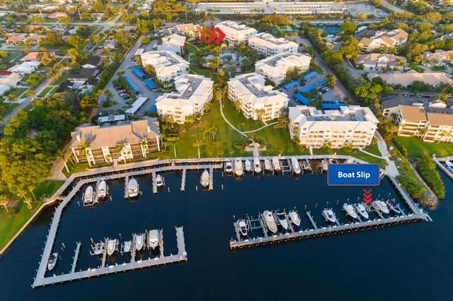 1032 Bay Colony Drive S With Slip/16K L, Juno Beach, FL 33408 (MLS #RX-10617997) :: RE/MAX
