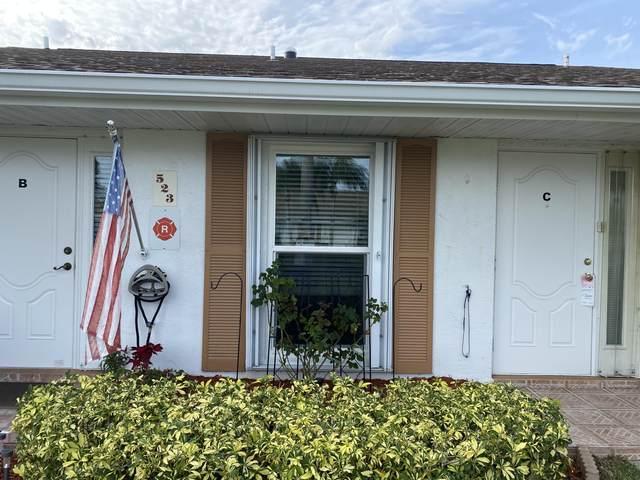 523 Crooked Lake Lane C, Fort Pierce, FL 34982 (#RX-10618098) :: Ryan Jennings Group