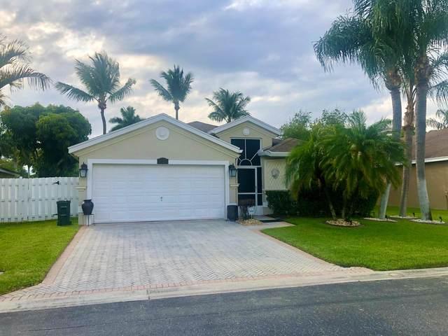 1708 Sawgrass Circle, Greenacres, FL 33413 (MLS #RX-10618126) :: United Realty Group