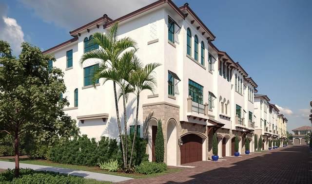 607 Windward Circle N #4, Boynton Beach, FL 33435 (MLS #RX-10618354) :: Berkshire Hathaway HomeServices EWM Realty