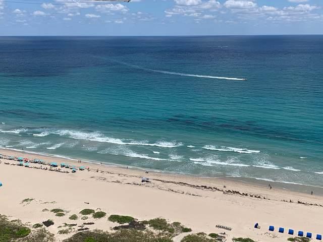 3000 N Ocean Drive 28-A, Singer Island, FL 33404 (MLS #RX-10618752) :: Berkshire Hathaway HomeServices EWM Realty