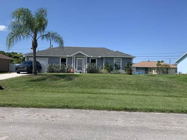 5491 NW Evanston Avenue, Port Saint Lucie, FL 34983 (#RX-10619571) :: Ryan Jennings Group