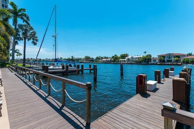 3300 S Ocean Boulevard 119-C, Highland Beach, FL 33487 (MLS #RX-10620030) :: Castelli Real Estate Services