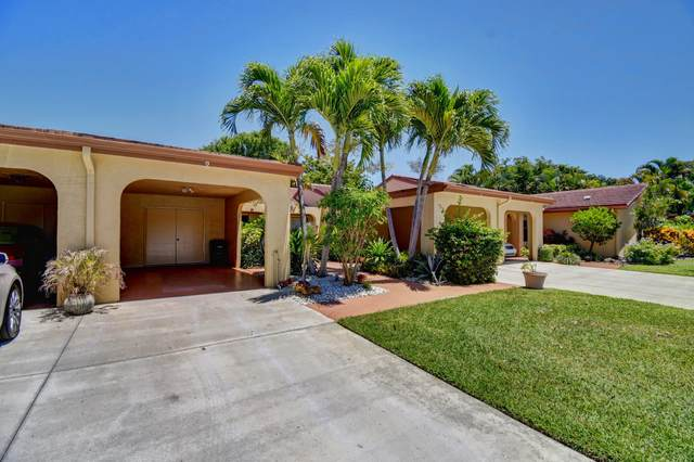 5992 SW Forest Grove Drive Drive SW #2, Boynton Beach, FL 33437 (#RX-10620311) :: Ryan Jennings Group