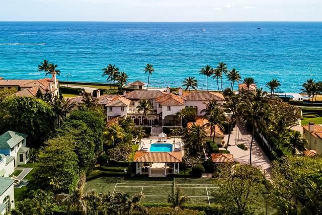 720 S Ocean Boulevard, Palm Beach, FL 33480 (MLS #RX-10620319) :: Laurie Finkelstein Reader Team