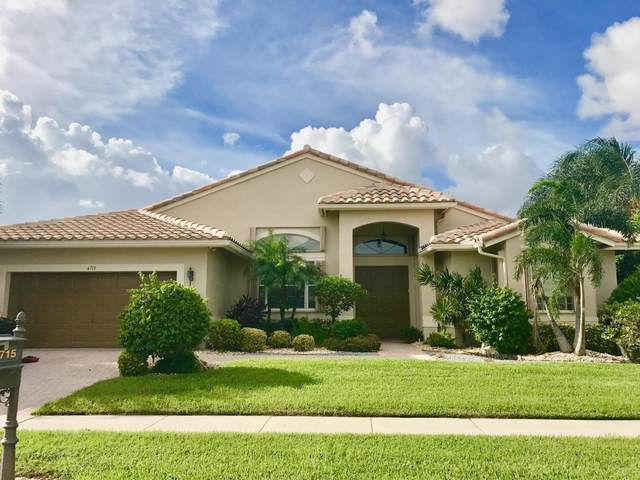 6715 Chimere Terrace, Boynton Beach, FL 33437 (MLS #RX-10620493) :: Berkshire Hathaway HomeServices EWM Realty