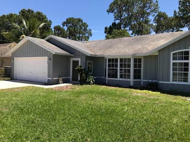 1572 SW Hunnicut Avenue, Port Saint Lucie, FL 34953 (#RX-10620545) :: Ryan Jennings Group