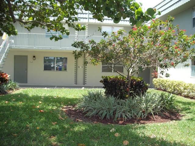 71 Flanders B #71, Delray Beach, FL 33484 (#RX-10620698) :: Ryan Jennings Group