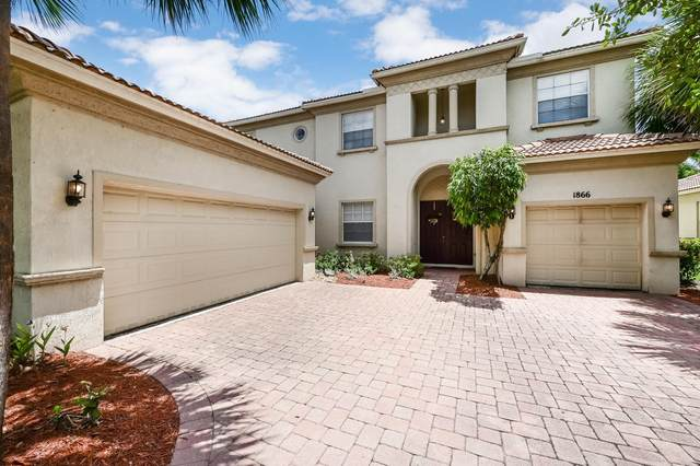 1866 Palisades Drive, West Palm Beach, FL 33411 (#RX-10621460) :: Ryan Jennings Group