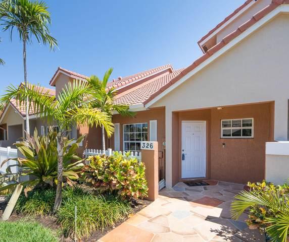 326 SE 23rd Avenue #4, Boynton Beach, FL 33435 (#RX-10621466) :: Ryan Jennings Group