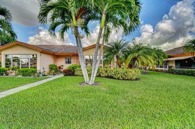 14669 Canalview Drive D, Delray Beach, FL 33484 (#RX-10622519) :: Ryan Jennings Group