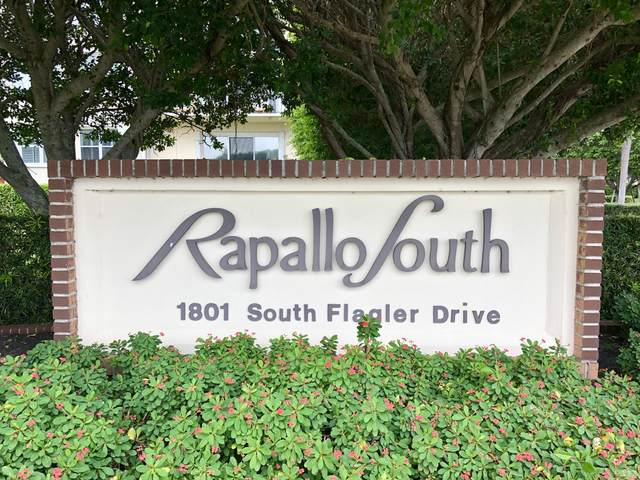 1801 S Flagler Drive #610, West Palm Beach, FL 33401 (MLS #RX-10622640) :: Castelli Real Estate Services