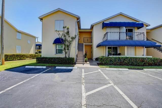 165 Waterside Drive #165, Hypoluxo, FL 33462 (MLS #RX-10623361) :: Berkshire Hathaway HomeServices EWM Realty