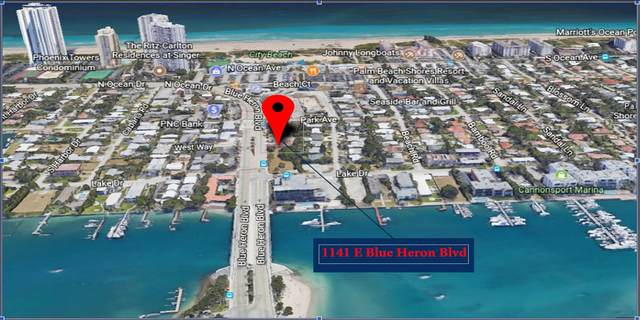1141 E Blue Heron Boulevard #1, Riviera Beach, FL 33404 (#RX-10623386) :: Ryan Jennings Group