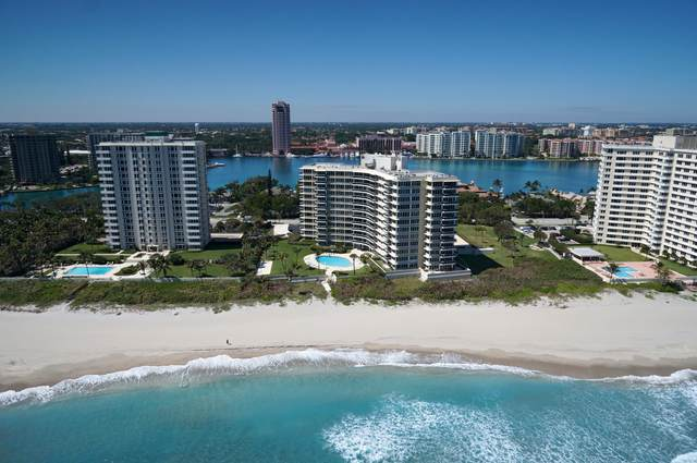 700 S Ocean Boulevard 802&S2, Boca Raton, FL 33432 (#RX-10623451) :: Baron Real Estate