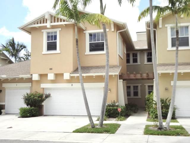 881 Marina Del Ray Lane #2, West Palm Beach, FL 33401 (#RX-10623508) :: Posh Properties