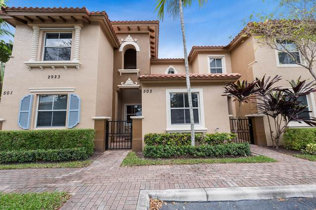 2923 Hope Valley Street #502, West Palm Beach, FL 33411 (MLS #RX-10623792) :: The Jack Coden Group