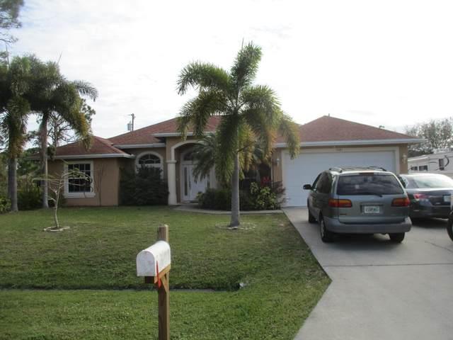 3485 SW Ellis Street, Port Saint Lucie, FL 34953 (#RX-10623926) :: Ryan Jennings Group