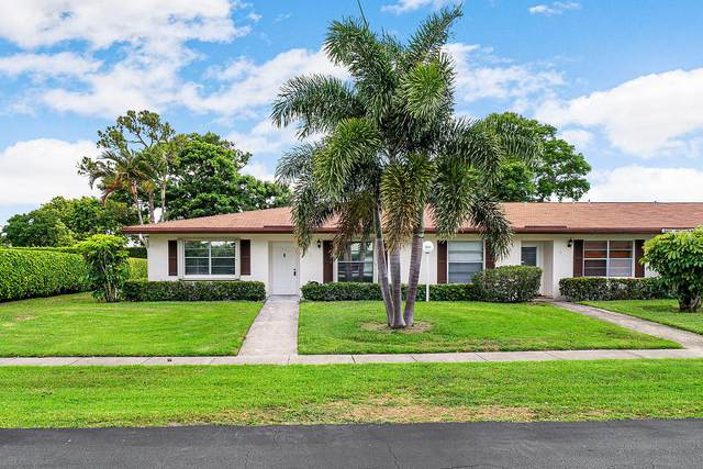 5103 Petal Place A, Delray Beach, FL 33484 (#RX-10623985) :: Ryan Jennings Group