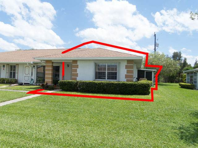 1231 S Lakes End Drive Apt D, Fort Pierce, FL 34982 (#RX-10624616) :: Ryan Jennings Group