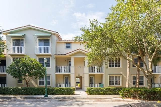 1136 Town Center Drive #22, Jupiter, FL 33458 (MLS #RX-10624724) :: Castelli Real Estate Services