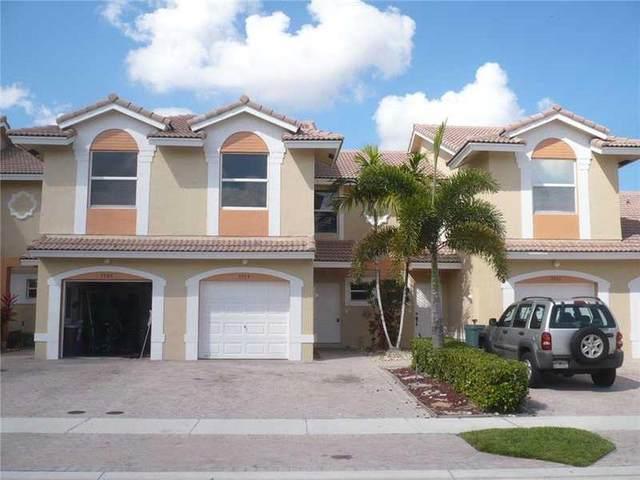 5549 NW 90th Avenue #106, Sunrise, FL 33351 (MLS #RX-10624734) :: The Paiz Group