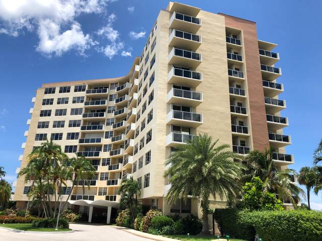 2800 N Flagler Drive #611, West Palm Beach, FL 33407 (MLS #RX-10624754) :: Berkshire Hathaway HomeServices EWM Realty
