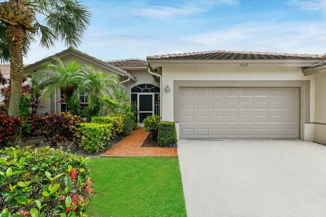 7339 Rockbridge Circle, Lake Worth, FL 33467 (#RX-10624889) :: Dalton Wade