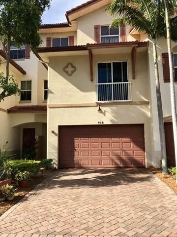 106 W Prive Circle, Delray Beach, FL 33445 (#RX-10624995) :: Ryan Jennings Group