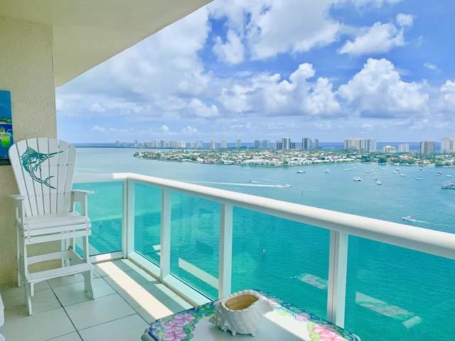 2640 Lake Shore Drive #2016, Riviera Beach, FL 33404 (MLS #RX-10625119) :: Berkshire Hathaway HomeServices EWM Realty