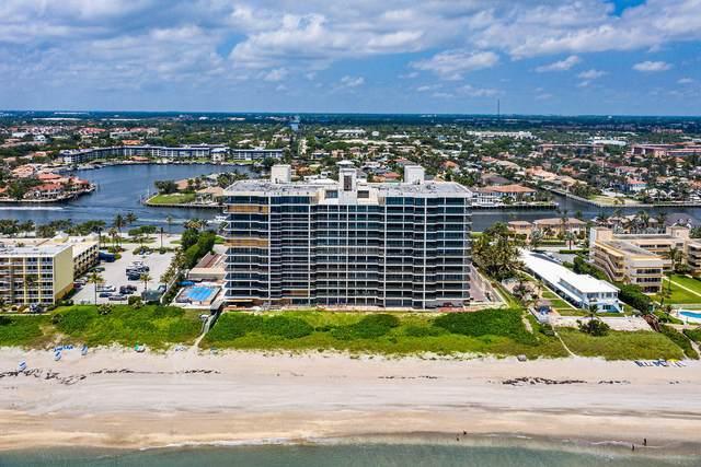 2727 S Ocean Boulevard #308, Highland Beach, FL 33487 (MLS #RX-10625126) :: Laurie Finkelstein Reader Team