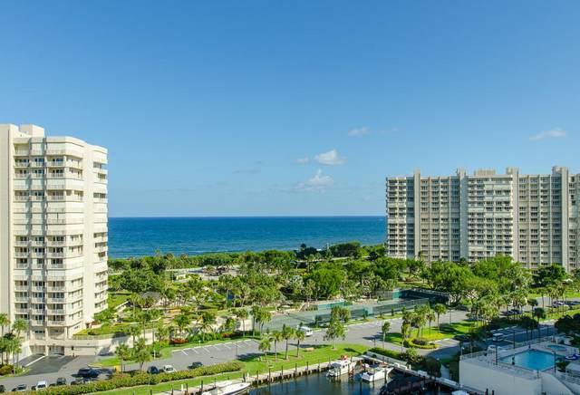 4201 N Ocean Boulevard #505, Boca Raton, FL 33431 (MLS #RX-10625222) :: United Realty Group