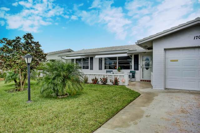 1707 SW 22nd Street Street, Boynton Beach, FL 33426 (MLS #RX-10625297) :: United Realty Group